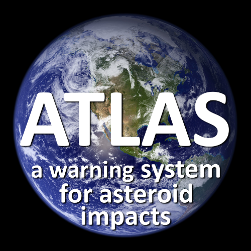 [Earth will be a little safer place to live starting in early 2015 when the Asteroid Terrestrial-impact Last Alert System begins operations. Image credit: NASA Goddard Space Flight Center, Reto Stöckli, Robert Simmon, MODIS Land Group, MODIS Science Data Support Team, MODIS Atmosphere Group, MODIS Ocean Group, USGS EROS Data Center, USGS Terrestrial Remote Sensing Flagstaff Field Center, Defense Meteorological Satellite Program. Text overlay: Robert Jedicke, University of Hawaii Institute for Astronomy. From http://visibleearth.nasa.gov/view_rec.php?id=2429]